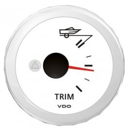 INDICATORE TRIM BIANCO 12/24 V